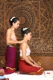 Healthy Thai Massage. Healthy traditional Thai massage for good health Royalty Free Stock Photo