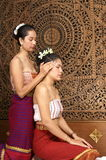 Healthy Thai Massage stock photography