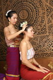 Healthy Thai Massage. Healthy traditional Thai massage for good health Royalty Free Stock Images