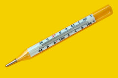 Healthy thermometer Stock Photos