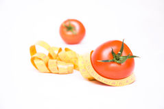 Healthy tomatoe. Healthy vegetable food represented by tomatoes Stock Photo