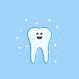 Healthy tooth icon Royalty Free Stock Photography