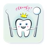 Healthy Tooth royalty free stock photo