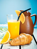 Healthy tropical breakfast Royalty Free Stock Photography