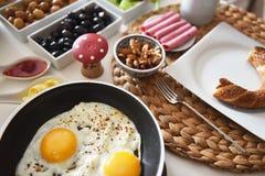 Healthy turkish breakfast Royalty Free Stock Photography
