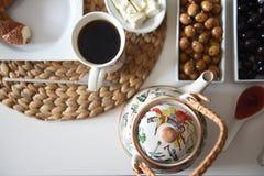 Healthy turkish breakfast Stock Photo