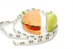 Healthy or unhealthy? royalty free stock images
