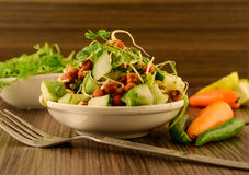 Healthy Veg Salad Stock Images