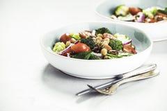 Healthy vegan energy boosting salad Stock Images