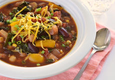 Healthy vegetable chili Royalty Free Stock Photography