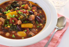 Healthy vegetable chili Stock Photos