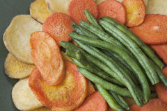 Healthy Vegetable Chips royalty free stock images