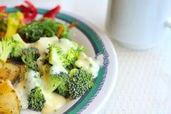 Healthy vegetable cuisine Stock Image