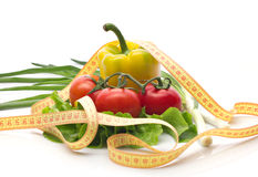 Healthy vegetable diet Royalty Free Stock Images