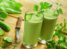 Healthy vegetable drink Royalty Free Stock Image