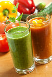 Healthy vegetable drink Royalty Free Stock Photo