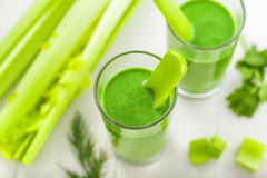 Healthy vegetable drink Stock Images