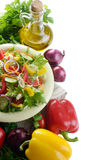 Healthy vegetable fresh organic set Stock Images