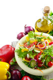 Healthy vegetable fresh organic set Stock Photo
