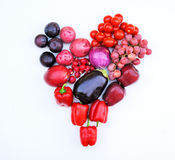 Healthy vegetable heart Royalty Free Stock Image
