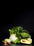 Healthy vegetable for refreshment and as an antioxidant Royalty Free Stock Images