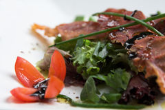 Healthy vegetable salad Royalty Free Stock Photo