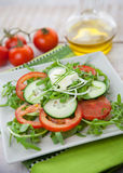 Healthy vegetable salad Royalty Free Stock Images