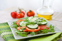 Healthy vegetable salad Stock Photography