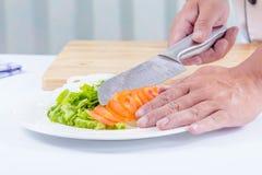Healthy vegetable salad Stock Photos
