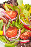 Healthy vegetable salad close-up Stock Photo