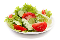 Healthy vegetable salad Royalty Free Stock Photography