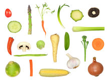 Healthy Vegetable Selection Stock Photo