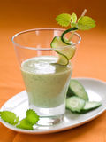 Healthy vegetable smoothie Stock Image