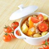 Healthy vegetable soup Stock Photos