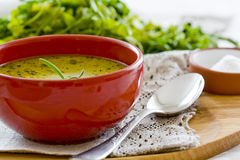 Healthy vegetable soup Royalty Free Stock Photography