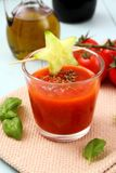 Healthy vegetable tomato smoothie and juice, Royalty Free Stock Image