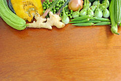Healthy vegetables background Stock Photography