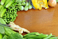 Healthy vegetables background Royalty Free Stock Photos