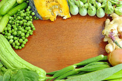 Healthy vegetables background Stock Photos