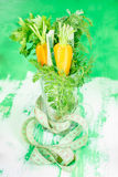 Healthy vegetables in a glass. Diet concept Royalty Free Stock Photo