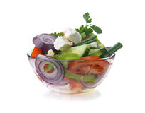 Healthy vegetables salad Royalty Free Stock Image