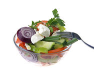 Healthy vegetables salad Royalty Free Stock Photography