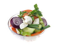 Healthy vegetables salad Stock Images