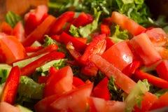 Healthy vegetables salad Stock Photo