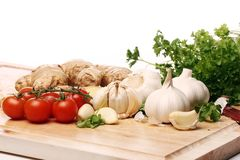 Healthy vegetables on the table Royalty Free Stock Image
