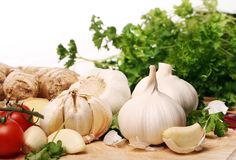 Healthy vegetables on the table Stock Photo