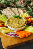 Healthy vegetarian appetizer Stock Photos
