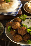 Healthy Vegetarian Falafel Balls Royalty Free Stock Images