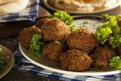 Healthy Vegetarian Falafel Balls Stock Image