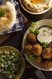 Healthy Vegetarian Falafel Balls Stock Images